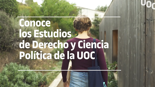 Estudis de Dret i Ciències Polítiques de la UOC